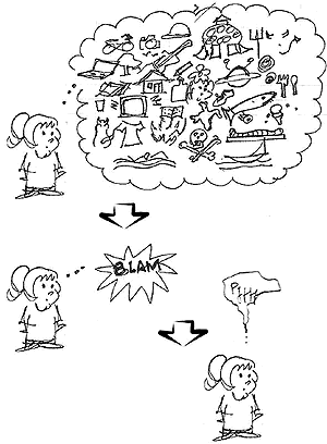 cartoon about simple choices